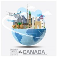 travel_to_canada_vector
