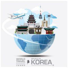 travel_to_korea_vector