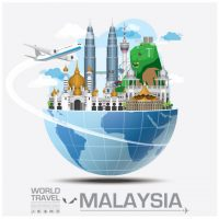 travel_to_malaysia_vector