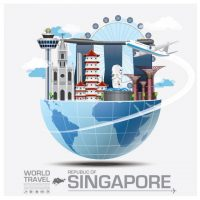 travel_to_singapore_vector