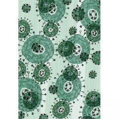 green_floral_background5