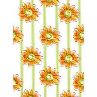 orange_floral_background9