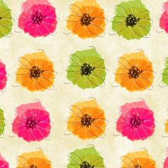 red_floral_background12