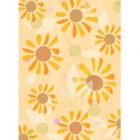 yellow_floral_background7