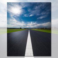 دانلود تصویر استوک جاده صاف زیبا