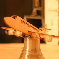 ماکت برش لیزری هواپیما