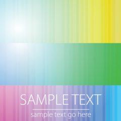 وکتور پس زمینه با رنگ های روشن در قالب 3 فایل