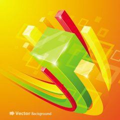 دانلود وکتور پس زمینه با رنگ های شاد و گرم