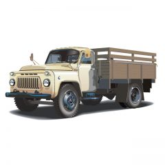 دانلود وکتور کامیون باری قدیمی با طراحی زیبا