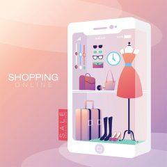 دانلود طرح لایه باز پوستر فروش آنلاین پوشاک زنانه