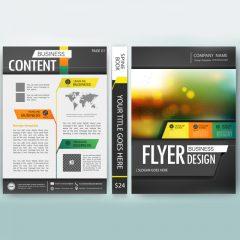 دانلود لایه باز کاتالوگ تجاری وکتور جلد کتاب