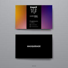 دانلود طرح لایه باز وکتور کارت ویزیت شرکتی و شخصی خلاقانه رنگین کمانی