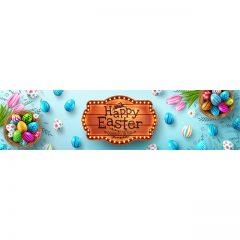 دانلود تصویر وکتور زیبا لایه باز تبریک عید پاک