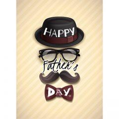 دانلود وکتور Happy Father's Day با تصاویر و طراحی خاص