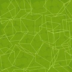 دانلود پس زمینه وکتور ابسترکت سبز با اشکال هندسی