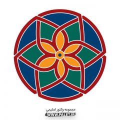 دانلود وکتور اسلیمی رنگارنگ خارق العاده