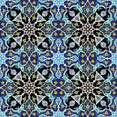 دانلود پس زمینه وکتور با طرح سنتی و اسلیمی رنگی