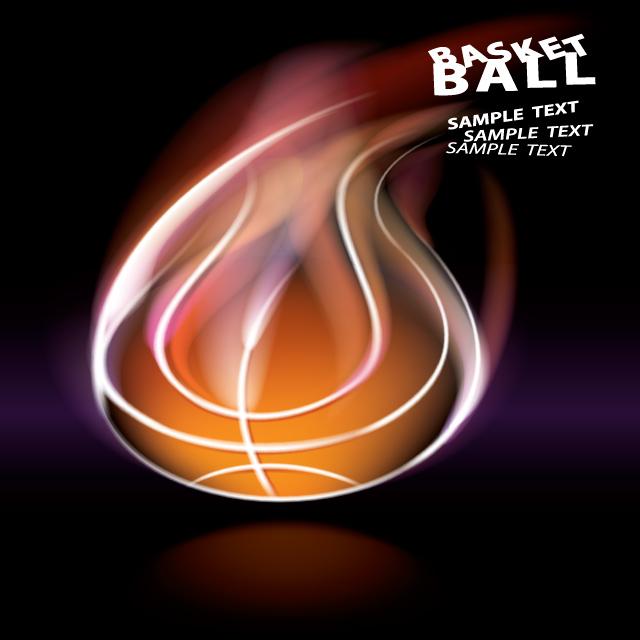 توپ بسکتبال نوری