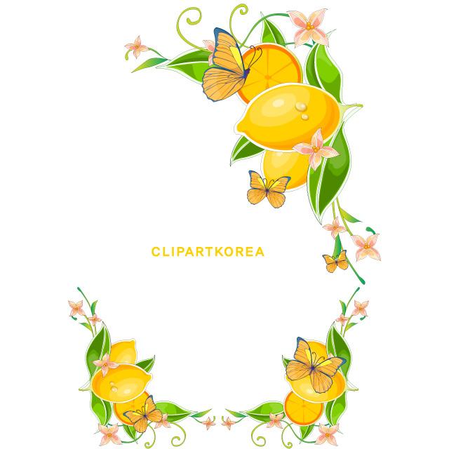 دانلود وکتور بوته درخت لیمو