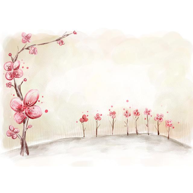 دانلود پس زمینه لایه باز شکوفه درخت