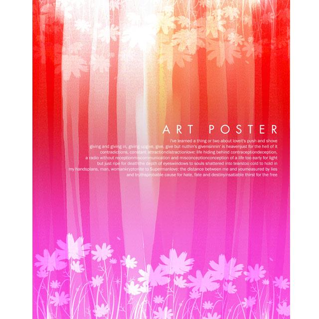 دانلود پس زمینه گلدار رنگی