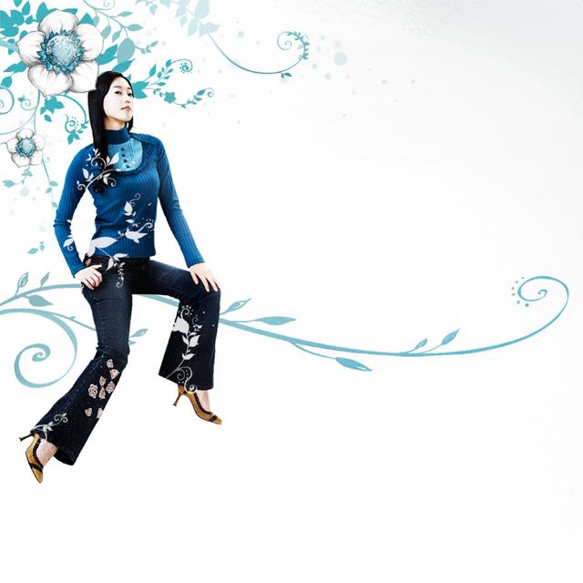 دانلود پس زمینه دختر کره ای