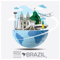 travel_to_brazil_vector