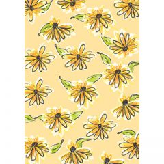 yellow_floral_background11
