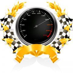 kilometer counter car