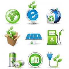 دانلود ایکون طبیعت سبز