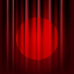وکتور پرده قرمز تئاتر