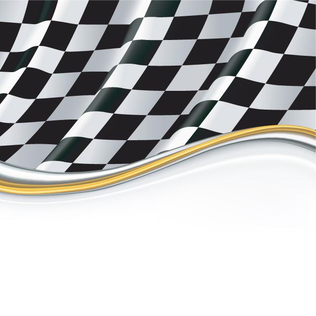 دانلود وکتور جدید پرچم ورزشی شطرنجی