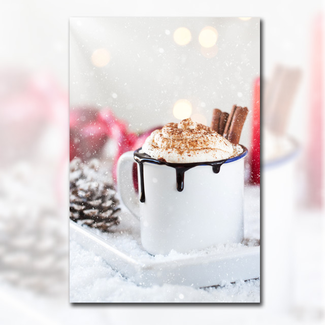 دانلود تصویر فنجان قهوه شکلاتی