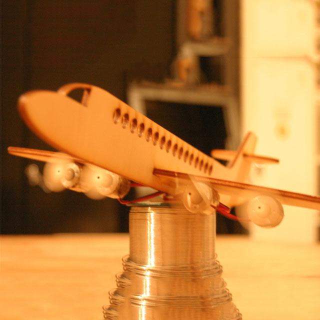 دانلود طرح برش لیزری ماکت هواپیما