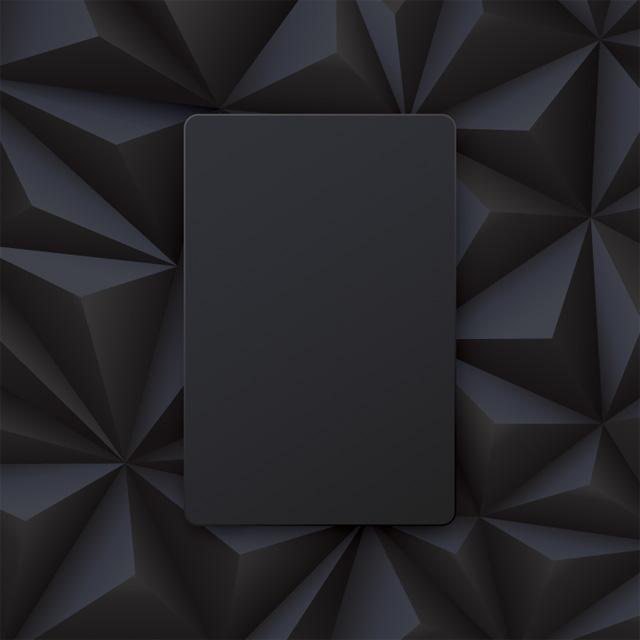 دانلود وکتور پس زمینه چند ضلعی مشکی