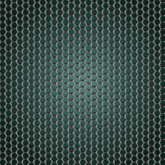 دانلود وکتور پس زمینه با طرح فلزی سبزآبی