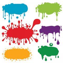 دانلود وکتور پس زمینه رنگ های پخش شده