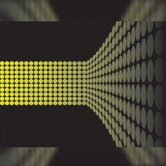 دانلود وکتور پس زمینه دایره های زرد