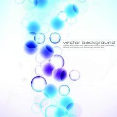 دانلود وکتور پس زمینه دایره های آبی و بنفش