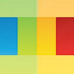 دانلود وکتور پس زمینه چهار رنگ جذاب