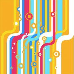 دانلود وکتور پس زمینه جذاب رنگارنگ