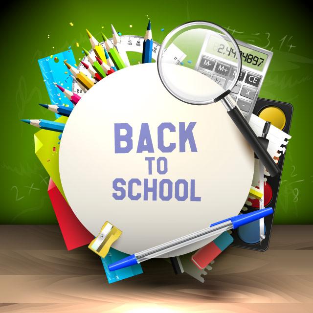 دانلود وکتور زیبای بازگشت به مدرسه