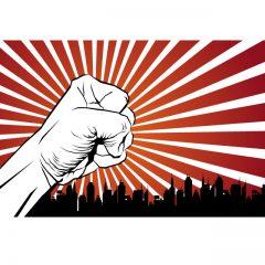 دانلود وکتور مقاومت و اعتراض مردمی