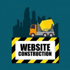 دانلود وکتور گرافیکی وب سایت درحال تعمیر