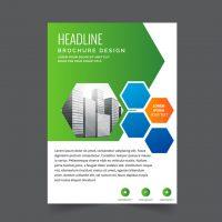دانلود طرح لایه باز بروشور تجاری برای چاپ