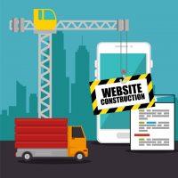 دانلود وکتور تعمیر قالب سایت گرافیکی