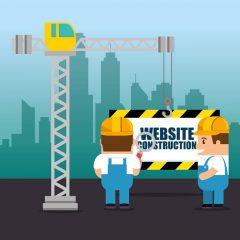 دانلود وکتور کاراکتر دو تعمیر کار برای اپدیت سایت