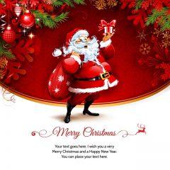 دانلود طرح لایه باز بابانوئل کریسمس