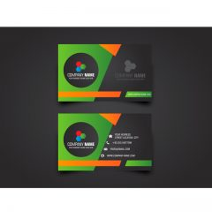دانلود وکتور کارت ویزیت شرکتی زیبا با طراحی خاص