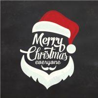 دانلود وکتور کریسمس طرح بابانوئل فانتزی گرافیکی